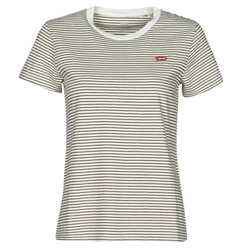 Clothing Women Short-sleeved t-shirts Levi's PERFECT TEE Beige