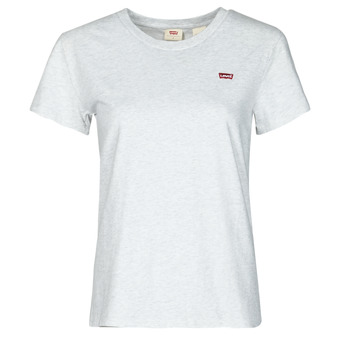 Clothing Women Short-sleeved t-shirts Levi's PERFECT TEE Grey