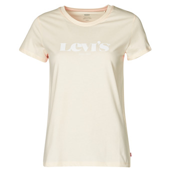 Clothing Women Short-sleeved t-shirts Levi's THE PERFECT TEE Beige