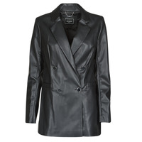 Clothing Women Jackets / Blazers Guess ANNALISA BLAZER Black