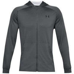 Clothing Men Track tops Under Armour Tech 20 Full Zip Hoodie Graphite