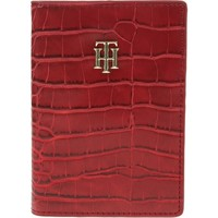 Bags Women Wallets Tommy Hilfiger Giftpack Passport Holder Red