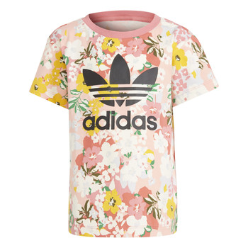 Clothing Girl Short-sleeved t-shirts adidas Originals KOPIL Multicolour