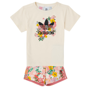 Clothing Girl Sets & Outfits adidas Originals OLIVIA Multicolour