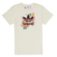 Clothing Girl Short-sleeved t-shirts adidas Originals REGARD Multicolour