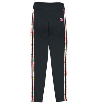 Clothing Girl Leggings adidas Originals FLAME Multicolour
