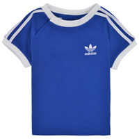 Clothing Children Short-sleeved t-shirts adidas Originals GN8190 Blue