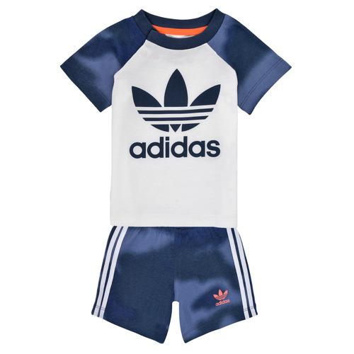Clothing Boy Sets & Outfits adidas Originals GN4110 White