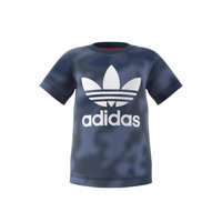 Clothing Boy Short-sleeved t-shirts adidas Originals GN4116 Blue