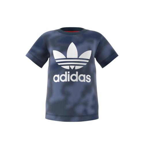 Clothing Boy Short-sleeved t-shirts adidas Originals GN4116 Blue