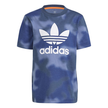 Clothing Boy Short-sleeved t-shirts adidas Originals GN4119 Blue