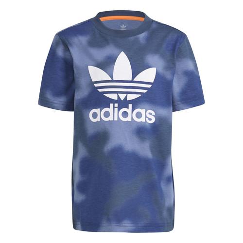 Clothing Boy Short-sleeved t-shirts adidas Originals GN4119 Blue