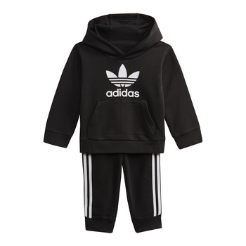 Clothing Children Sweaters adidas Originals DV2809 Black