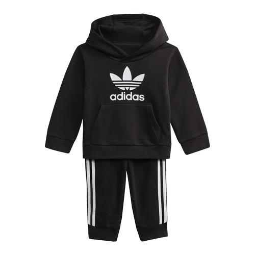 Clothing Children Sweaters adidas Originals DV2809 Black