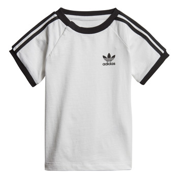 Clothing Children Short-sleeved t-shirts adidas Originals DV2824 White