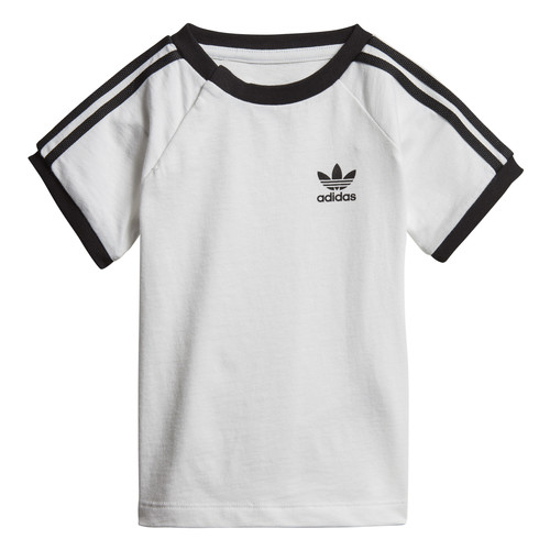 Clothing Children Short-sleeved t-shirts adidas Originals DV2824 White