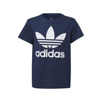 Clothing Children Short-sleeved t-shirts adidas Originals GD2679 Blue