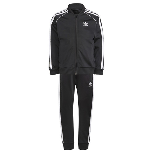 Clothing Children Tracksuits adidas Originals GN4362 Black