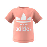 Clothing Children Short-sleeved t-shirts adidas Originals GN8176 White