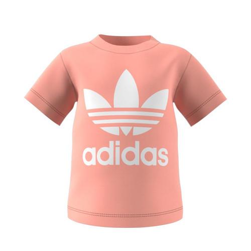 Clothing Children Short-sleeved t-shirts adidas Originals GN8176 White