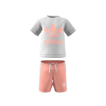 Clothing Children Sets & Outfits adidas Originals GN8192 White