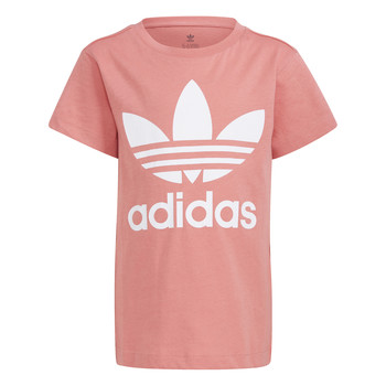 Clothing Children Short-sleeved t-shirts adidas Originals HOULILA White