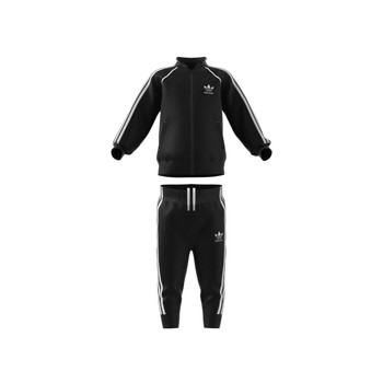 Clothing Children Tracksuits adidas Originals FREDDY Black