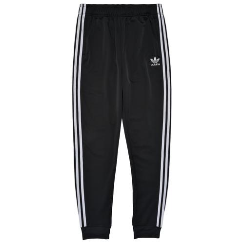 Clothing Children Tracksuit bottoms adidas Originals GIANNY Black