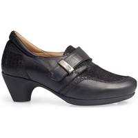 Shoes Women Loafers Calzamedi HEELED SHOES  0711 BLACK