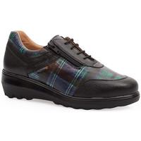 Shoes Women Derby Shoes & Brogues Calzamedi SHOES  0747 BLACK