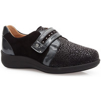 Shoes Women Derby Shoes & Brogues Calzamedi SHOES  ELASTIC SPECIAL JUANETES 0748 BLACK