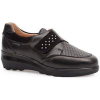 Shoes Women Derby Shoes & Brogues Calzamedi ELASTIC SHOES  0745 BLACK