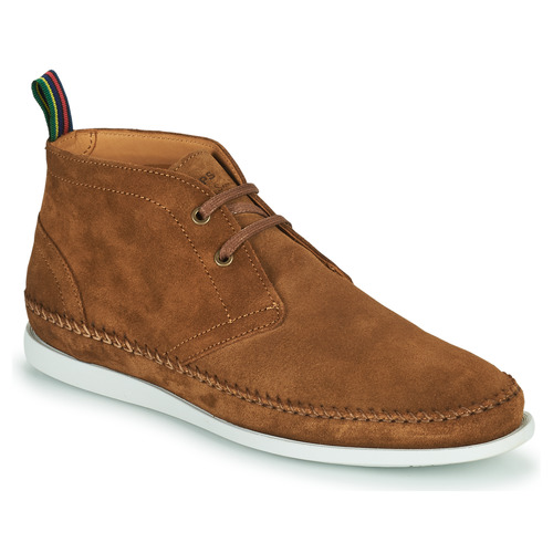 Shoes Men Mid boots Paul Smith NEON Brown