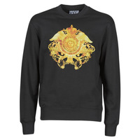 Clothing Men Sweaters Versace Jeans Couture SOXA Black