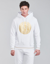 Clothing Men Sweaters Versace Jeans Couture SOXA White / Gold