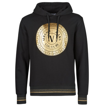 Clothing Men Sweaters Versace Jeans Couture SOXA Black / Gold