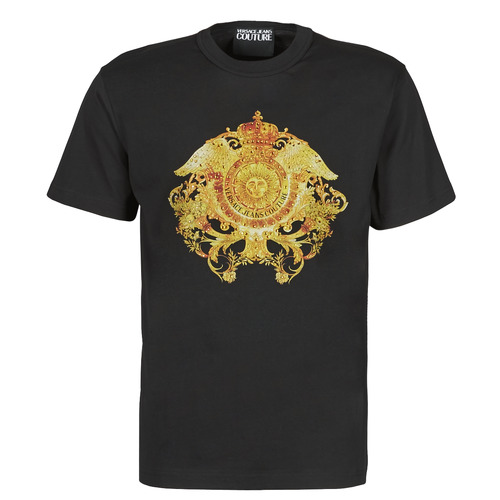 Clothing Men Short-sleeved t-shirts Versace Jeans Couture TIKI Black