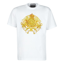 Clothing Men Short-sleeved t-shirts Versace Jeans Couture TIKI White