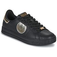 Shoes Men Low top trainers Versace Jeans Couture MANAKI Black
