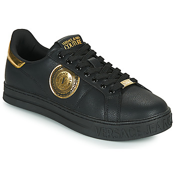 Shoes Men Low top trainers Versace Jeans Couture MANAKI Black