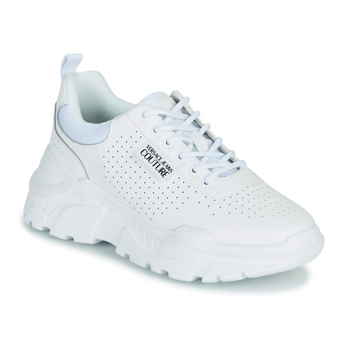 Shoes Women Low top trainers Versace Jeans Couture THELLA White
