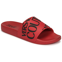 Shoes Men Sliders Versace Jeans Couture TENNIA Red / Black