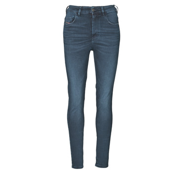 Clothing Women Skinny jeans Diesel D-SLANDY-HIGH Blue