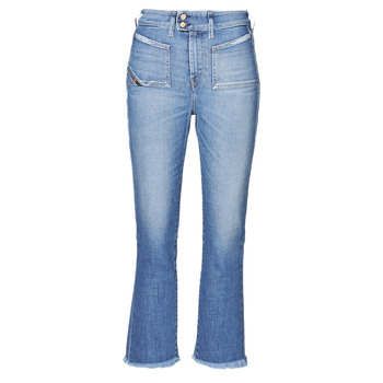 Clothing Women Bootcut jeans Diesel D-EARLIE-H Blue