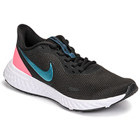 Shoes Women Running shoes Nike REVOLUTION 5 Black / Blue / Pink