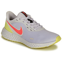 Shoes Women Running shoes Nike REVOLUTION 5 White / Pink / Yellow