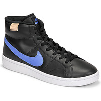 Shoes Men Low top trainers Nike COURT ROYALE 2 MID Black / Blue