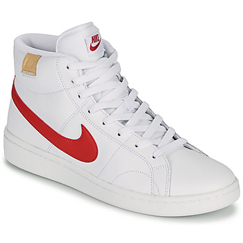Shoes Men Low top trainers Nike COURT ROYALE 2 MID White / Red