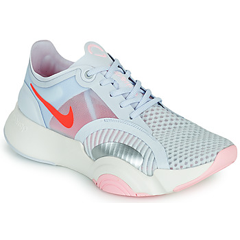 Shoes Women Multisport shoes Nike SUPERREP GO Grey