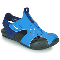 Shoes Boy Outdoor sandals Nike SUNRAY PROTECT 2 PS Blue
